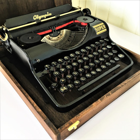 Maquina Escrever Datilografia Olympia Super 1938 Germany