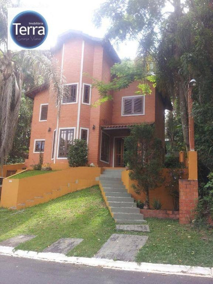 Casa Residencial À Venda, Vila Verde, Granja Viana. - Ca0860