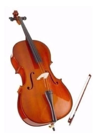 Violoncello 3/4 Estudio Pino + Funda Arco Stradella Mc601134