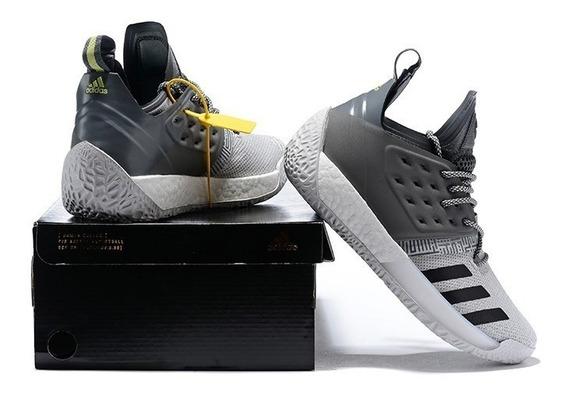 Tênis adidas Harden Cinza Esporte Shoes Original Musculação
