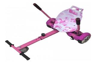 Hover Kart Carrinho Hoverboard Skate 6.5 / 8 / 10 Poleg Rosa