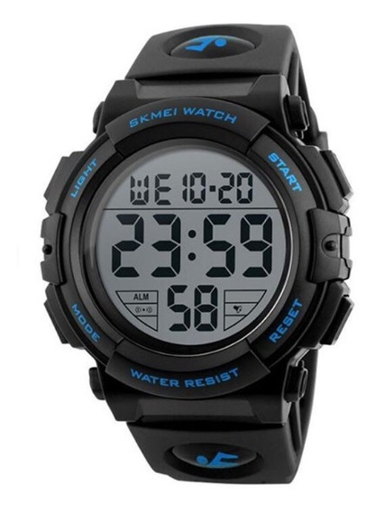 Relógio Masculino Skmei 1258 Digita A Prova D