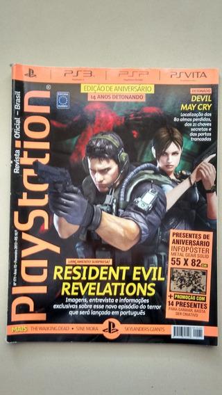 Revista Playstation 171 Resident Evil May Detonados E854