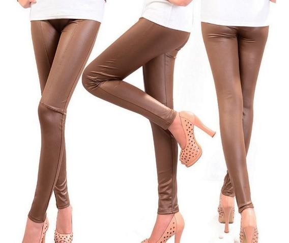 Mayón O Legging Vinil Piel Elastizado Muy Sexy