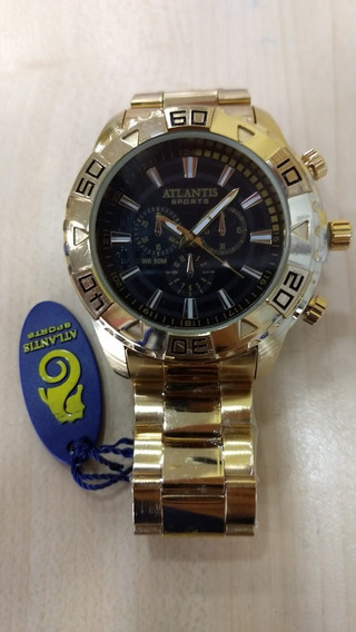 Relógio Original Atlantis Estilo Technos Legacy Lançamento