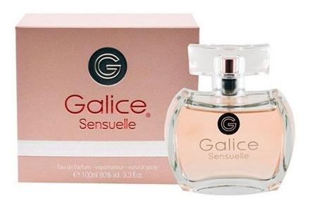 Perfume Galice Sensuelle Feminino Paris Bleu Edp 100ml