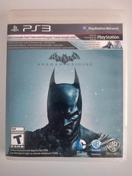 Jogo Batman Arkham Origins Original Ps3 Playstation 3 Física
