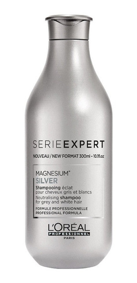 Shampoo Silver Para Cabello Con Canas L´oréal Professionnel