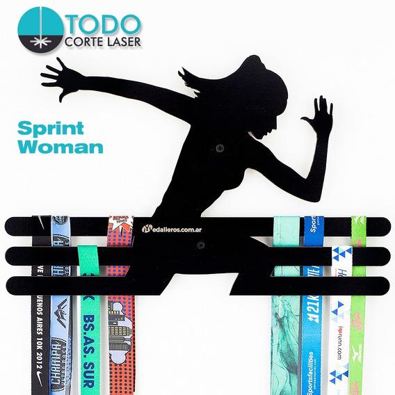 Medallero Running Atletismo Deportivo Modelo Sprint Woman