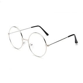 edc241ea6c Monturas Gafas Redondas Para Hombre Lente Sin Color - Gafas Monturas ...