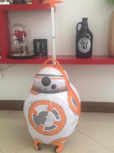 Carryon, Valija , Disney Bb-8 Star Wars, Ideal Día Del Niño