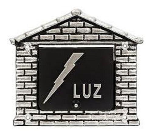 Visor Luz  Colonial Casinha  Aluminio