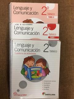 Lenguaje Y Comunicación 2º Básico Casa Del Saber I, Ii Y C