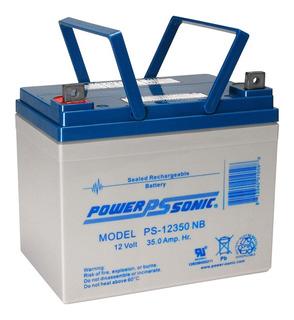 Bateria Para Sillas De Ruedas Electricas Ps 12350 12v 35ah