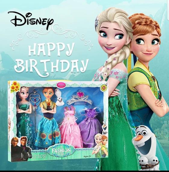 Frozen Elza Y Ana Set Muñecas Disney