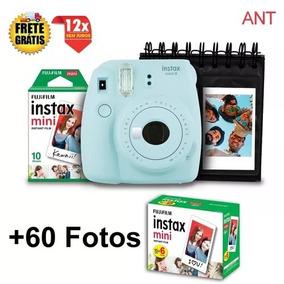 Kit Câmera Instax Mini 9 + Filme 60 Fotografiasantos