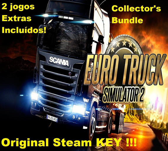 Euro Truck Simulator 2 Pc Steam Key Origi Collector