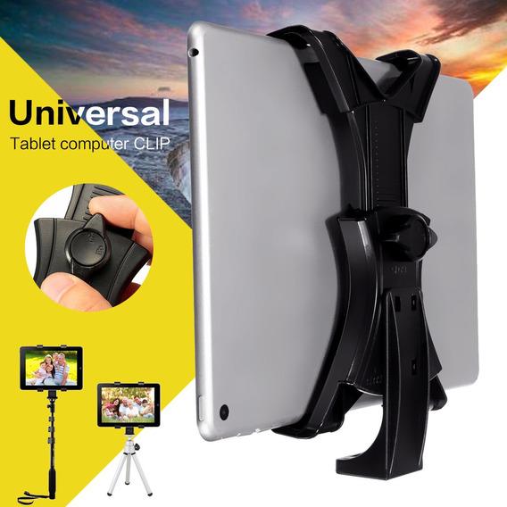Universal Tablet Stand Tripé Stand Mount Flexível Auto-vara