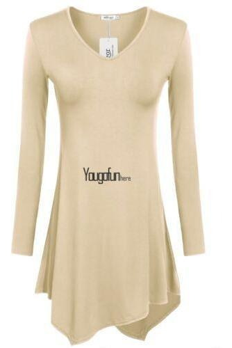 Xl (us Xl(16) Uk 20- - Beige - Las Mujeres Casual Largo-8780