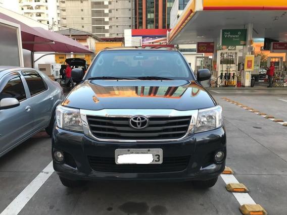 Toyota Hilux 2012 Flex Utilizado Em Entrada Sem Carga