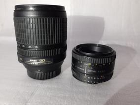 Super Oportunidade - Lentes 18-105mm E 50mm