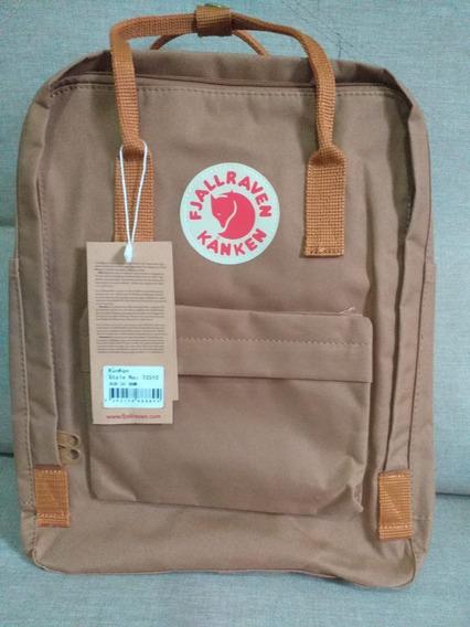 Mochila Fjallraven Kanken Classic - Color: Brown 562