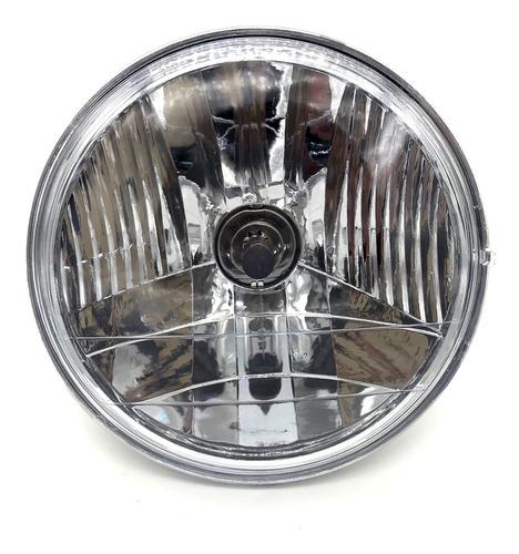 Bloco Óptico Do Farol Cbx 250 Twister Até 2008 Com Lâmpada