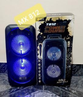 Parlante Potenciado Orix T812 + Microfono