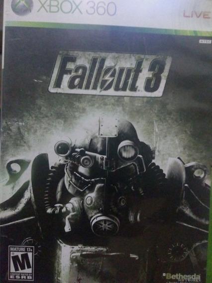 Fallout 3 Xbox 360 Original , A Pronta Entrega