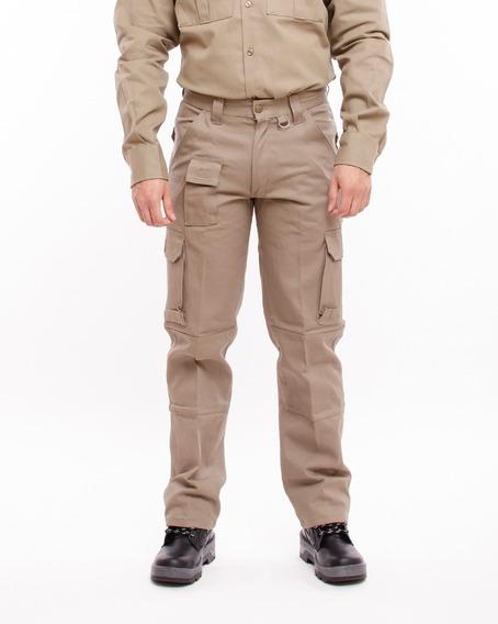 Pantalon De Trabajo Cargo Gaucho 38 Al 54 Gau300
