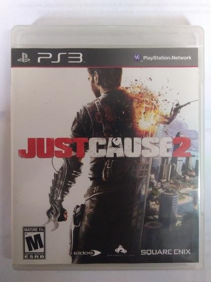 Jogo Just Cause 2 Ps3 Mídia Fisica Completo R$49,90