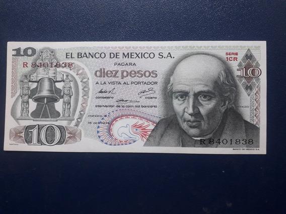 Billete 10 Pesos Hidalgo Nuevo