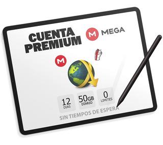 Cuentas Premium Mega 12 Dias Oficial Envío Inmediato