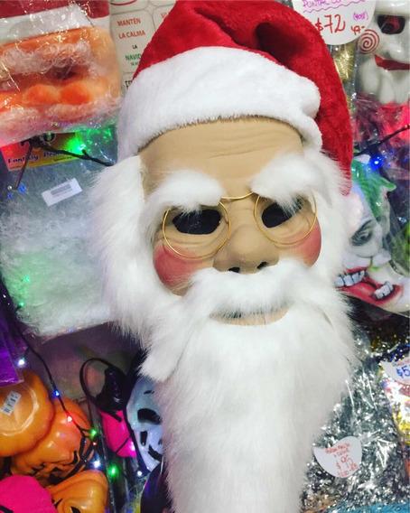 Mascara De Papa Noel Mascara Completa Latex