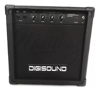 Amplificador Digisound Bajo 20w Con Envio