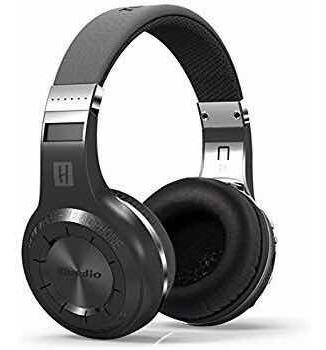 Fone Bluedio H Wireless Bluetooth Headset Sem Fio Preto