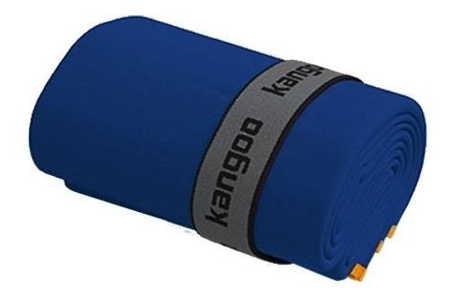 Toalla De Microfibra Kangoo Talla S Color Azul Con Naranja