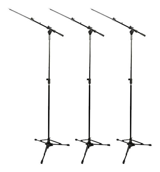 3 Pedestal Suporte Microfone Rmv Psu0090 Pro Pesado - Loja