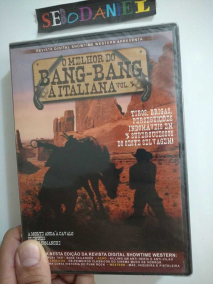 Dvd O Melhor Do Bang Bang Italiano Vol 3 - 3 Filmes Lacrado