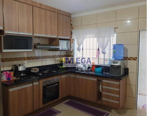 Casa Com 3 Dormitórios À Venda, 160 M² Por R$ 590.000,01 - Jardim Aliança - Campinas/sp - Ca2332