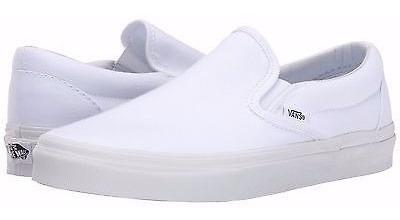 Tenis Vans Blancos Classic Slip On 0eyew00 Original
