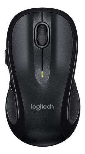 Imagen 1 de 3 de Mouse inalámbrico Logitech  M510 negro