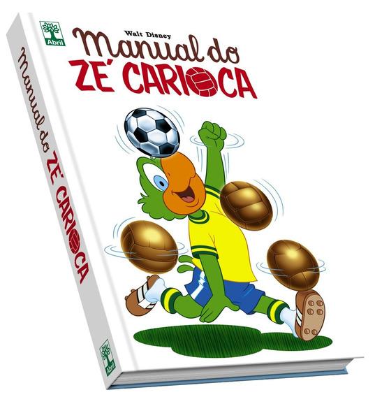 Hq Manual Do Zé Carioca Disney Ed. Colecionador Frete Grátis