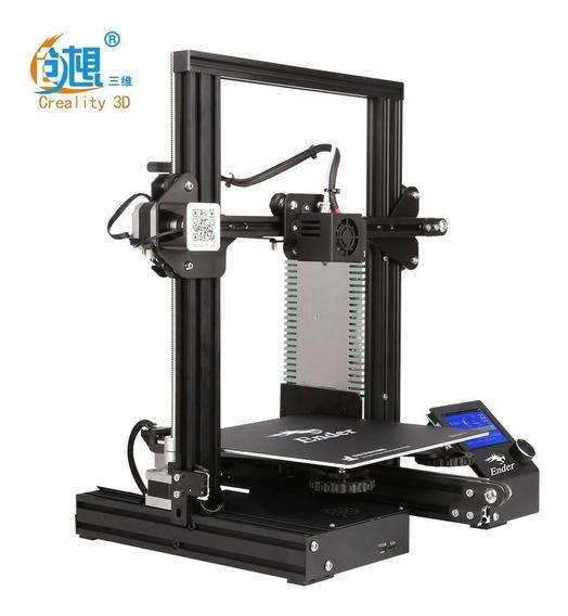 Impressora 3d Ender 3 Fdm - Assistência Total