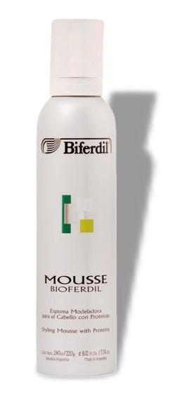 Mousse Espuma Modeladora Biferdil Para Cabello Con Proteinas