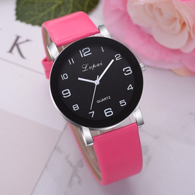 Relógio Feminino Import. Lvpai Pulseira Rosa Pronta Entrega