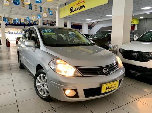 Nissan Tiida 1.8 Sedan 2012 Completo