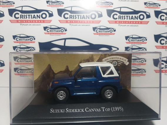Suzuki Sidekick Canvas Top 1995 Ed 105 Carros Inesqueci 1/43