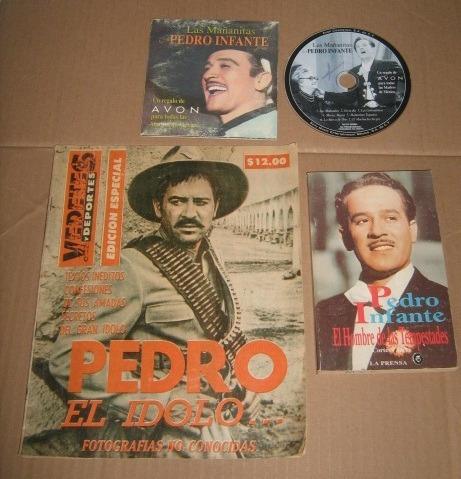 7 Cosas, Libro, Revista, Mañanitas, Discos , Pedro Infante