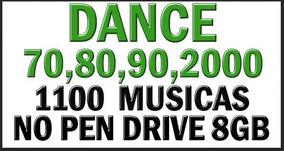 Dance Das Antigas 1100 Musicas Em Pendrive